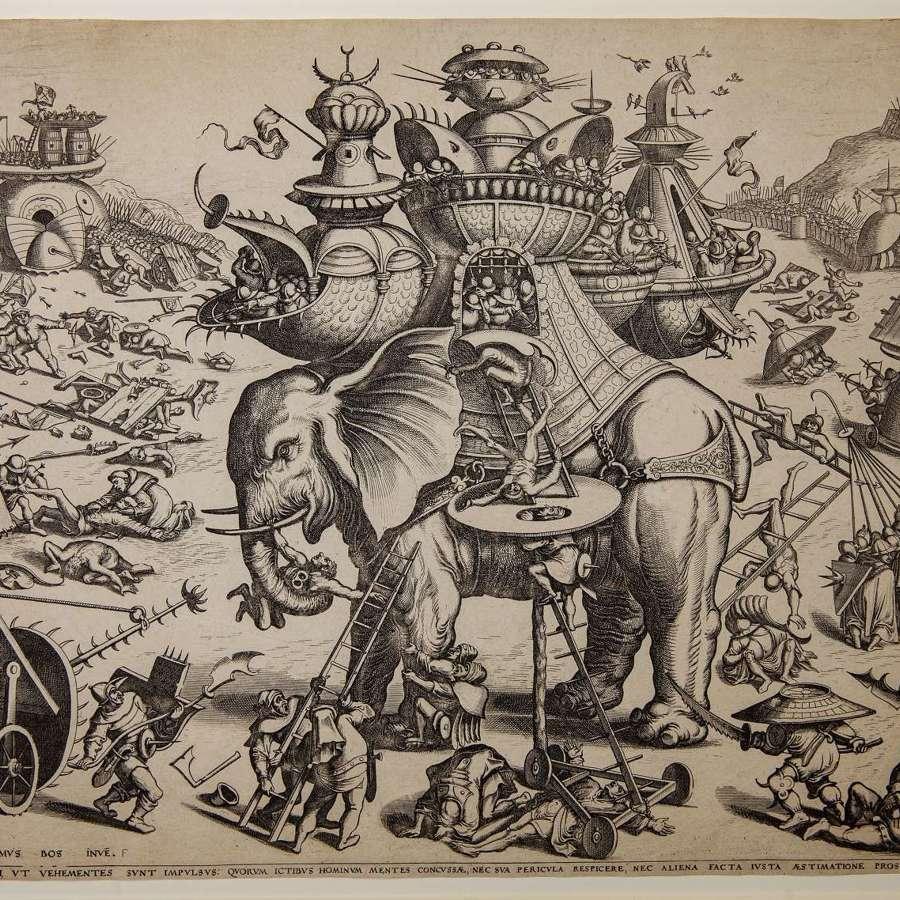 After Bosch The War Elephant