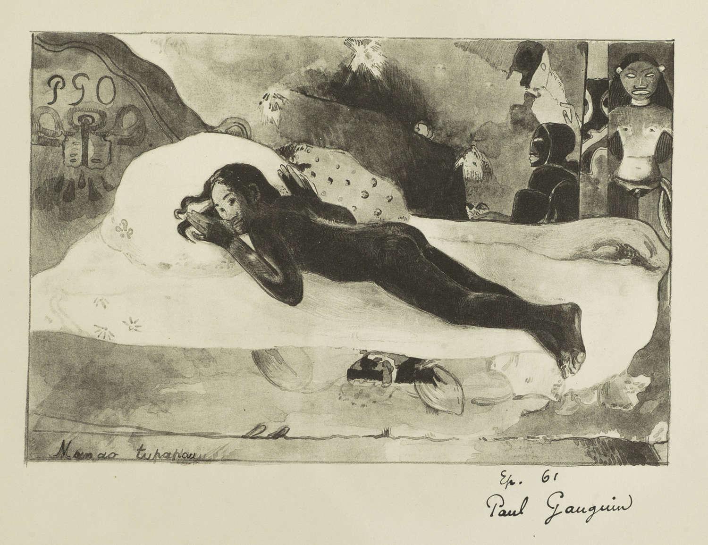 Gauguin lithograph