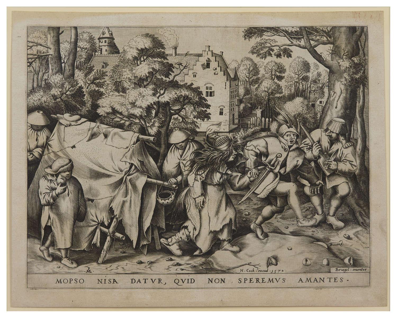 After Bruegel engraving