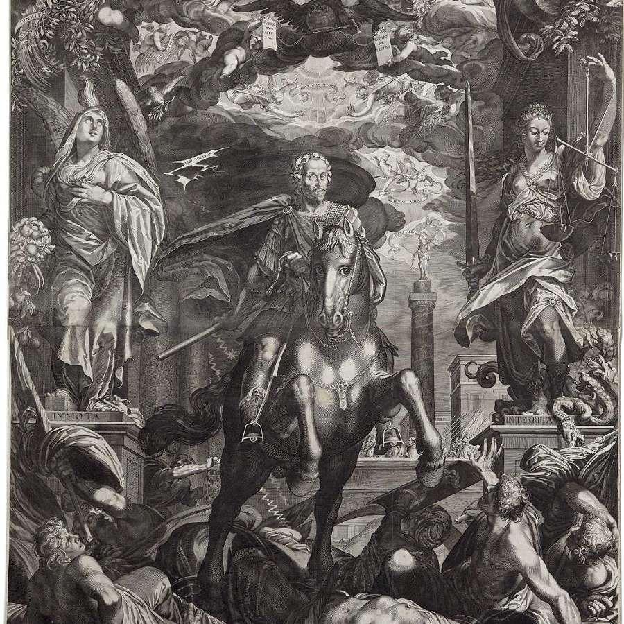 Aegidius Sadeler engraving