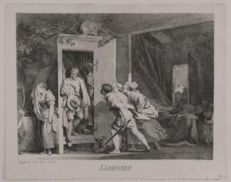 Fragonard etching